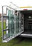 Tekimex glasstativ til bilen - Type Ergo, indvendigt stativ
