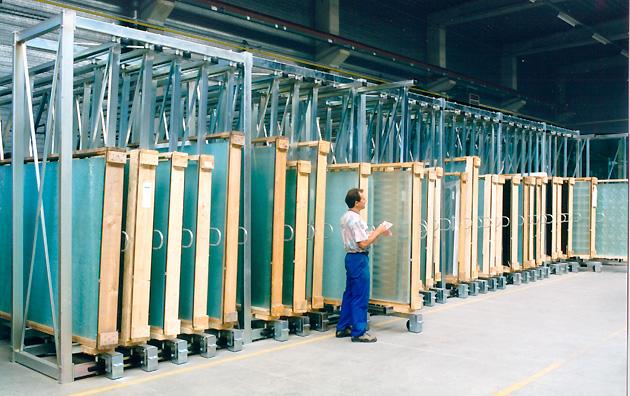 Glaslagersystem Maxitek fra Tekimex