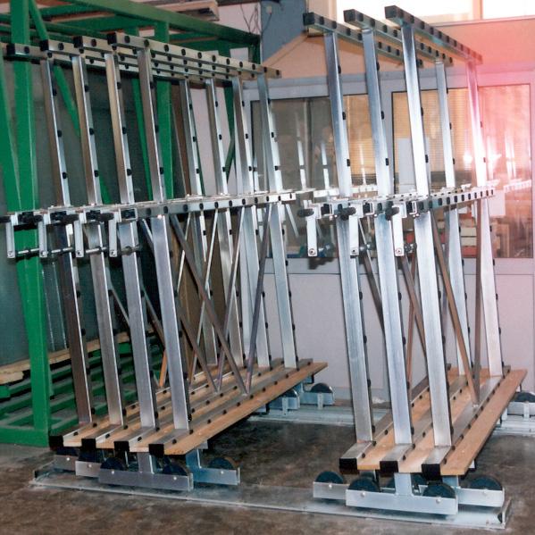 Glaslagersystem Kompakt 1600 från Tekimex
